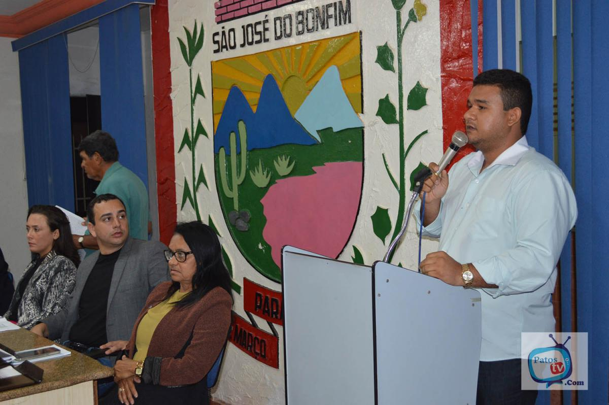Câmara de São José do Bonfim realiza 2ª Sessão Ordinária